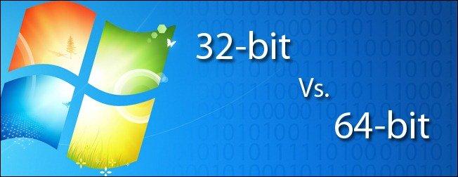 تشخیص ۳۲ بیتی یا ۶۴ بیتی سیستم