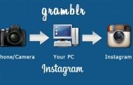 انتقال عکس از کامپیوتر به اینستاگرام