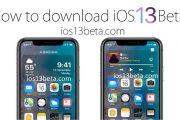 دانلود و نصب نسخه iOS 13 Beta